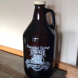 Growler Beer Jug Steamboat Springs 64 Oz.